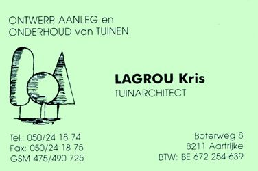 Lagrou Kris Tuinarchitect