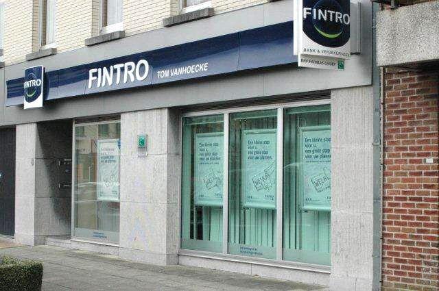 Fintro Vanhoecke - Voorgevel Fintro Vanhoecke