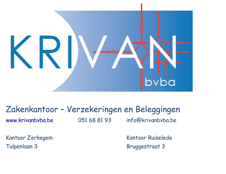 Zakenkantoor Krivan bvba - Krivan
