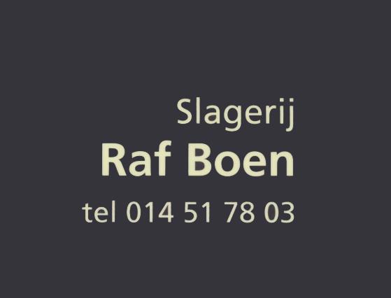Slagerij Raf Boen - Logo