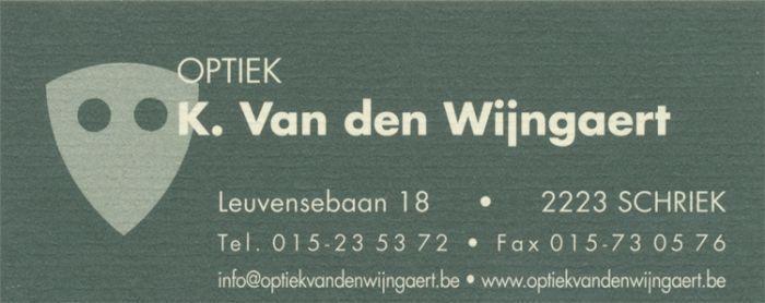Optiek K. Van den Wijngaert