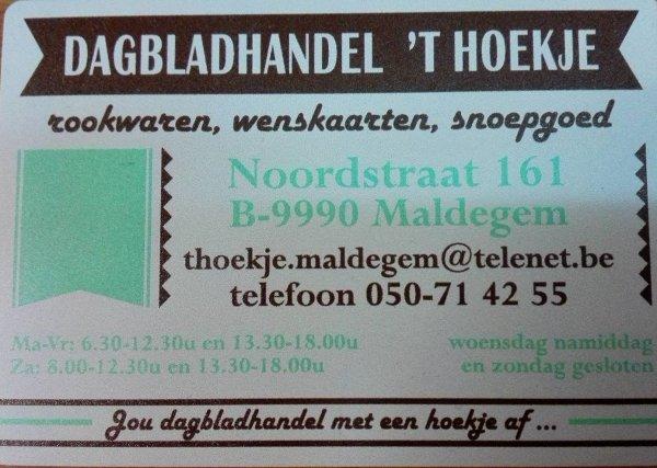 Dagbladhandel 't Hoekje - 't Hoekje