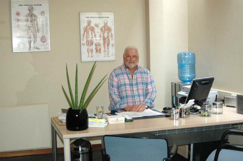 Osteopaat Dirk De Wilde - Kantoor