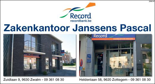 Zakenkantoor Janssens Pascal - Logo