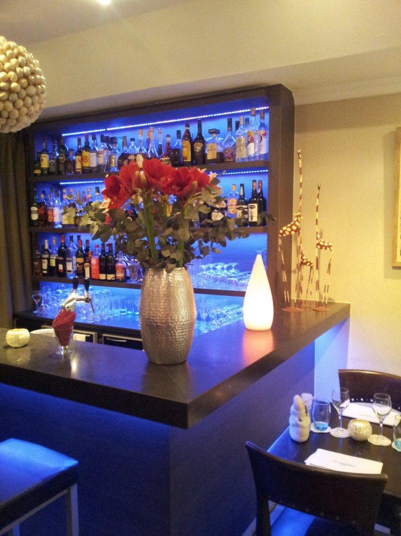 La Galleria - minibar/lounge