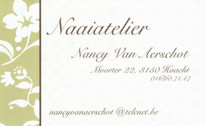 Naaiatelier Nancy Van Aerschot - Logo