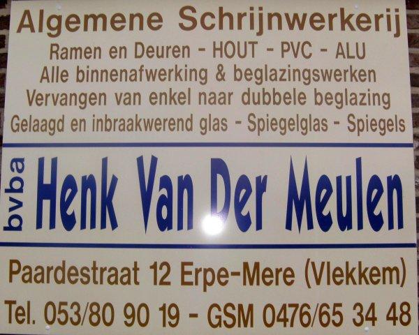Algemene Schrijnwerkerij Henk Van der Meulen