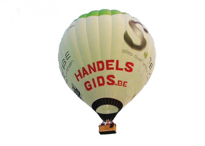 Luchtballon reclame