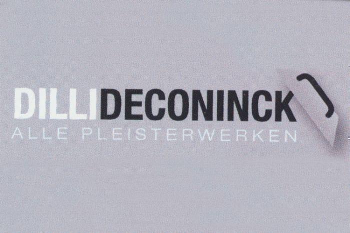 Alle Pleisterwerken Dilli Deconinck