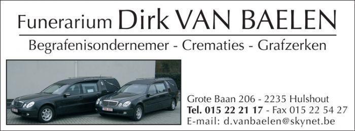 Uitvaartverzorging Dirk Van Baelen