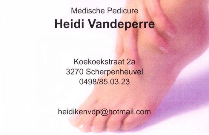 Gespecialiseerd medisch Pedicure Heidi