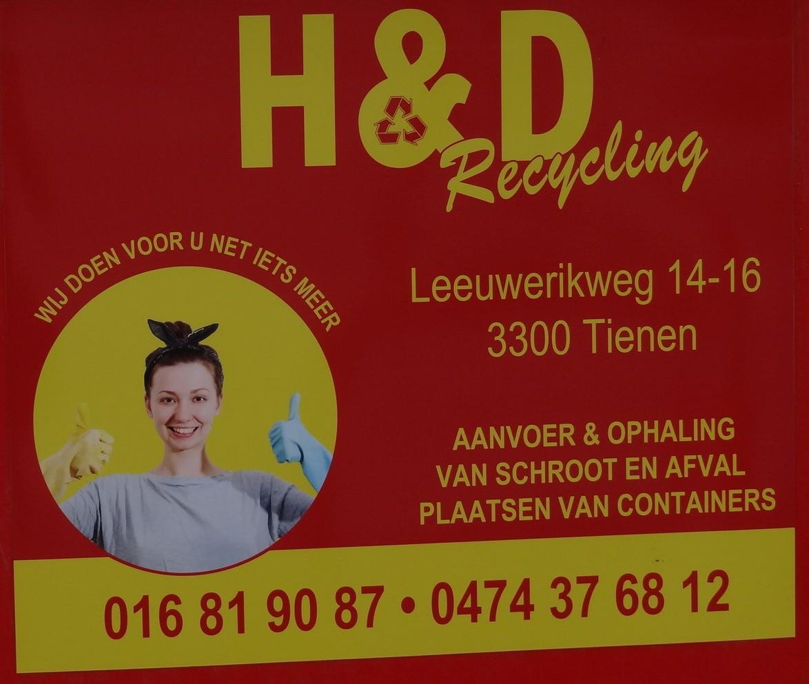 H&D Recycling bvba - Logo