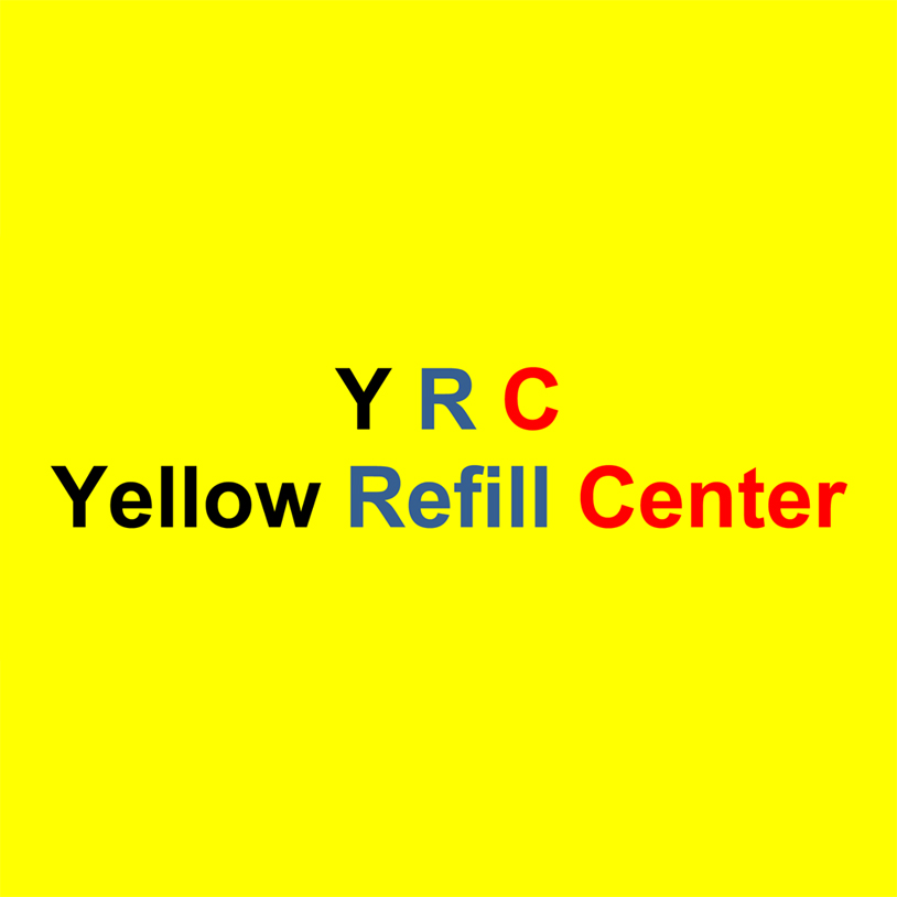 Yellow Refill Center