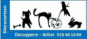 Dierenartsenpraktijk Decuypere - Billiet