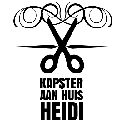 Kapster aan Huis Heidi - Logo, Kapster aan huis Heidi