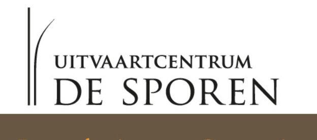 Uitvaartcentrum De Sporen - logo De Sporen