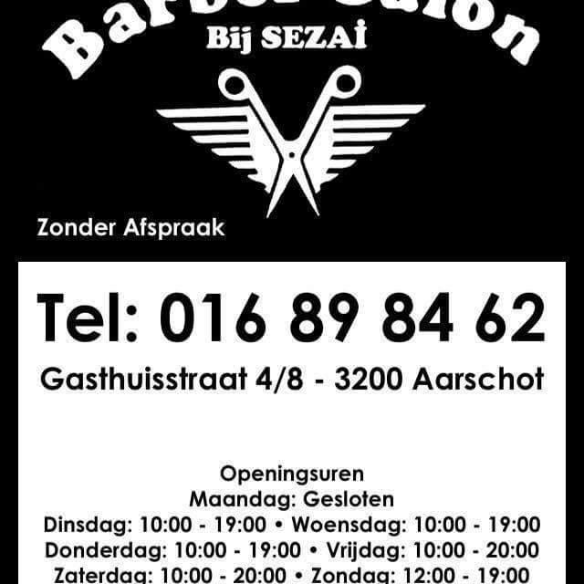 Barbersalon bij Sezai - Logo Sezai