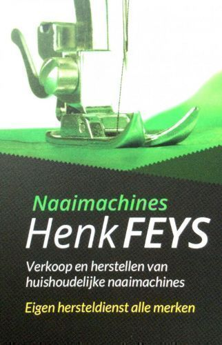 Naaimachines Henk Feys - Bernina, Brother, Elna,Pfaff, Singer, Husqvarna