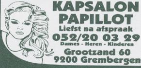 Kapsalon Papillot - papillot