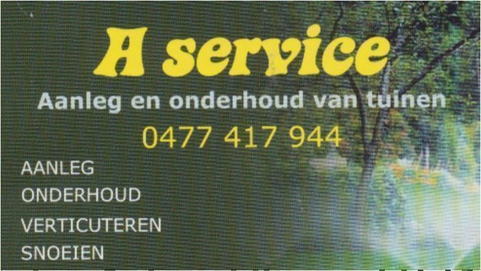 A Service - A Service
