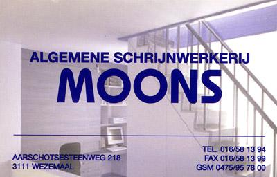 Moons Algemene Schrijnwerkerij