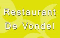Restaurant De Vondel