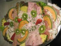 Koud buffet vlees