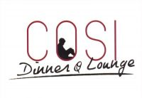 Cosi Dinner & Lounge - Logo Cosi