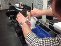 Barbersalon bij Sezai