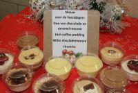 desserten voor feestdagen
