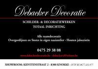 Debacker Schilder- & Decoratiewerken