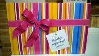 ONTVANG DEZE GRATIS VERJAARDAGSBOX(t.w.v.�50)als je een verjaardagstaart bestelt! (zoland de voorraad strekt)