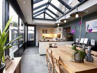 Keuken in veranda