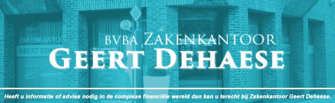 Zakenkantoor Geert Dehaese bvba