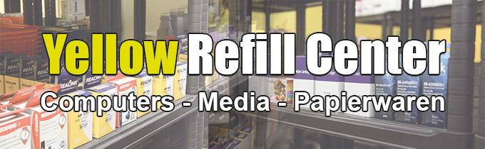 Yellow Refill Center