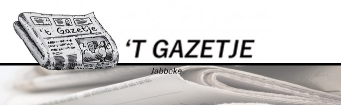 Gazetje ('t)