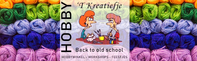 Kreatiefje Back To Old School ('t)