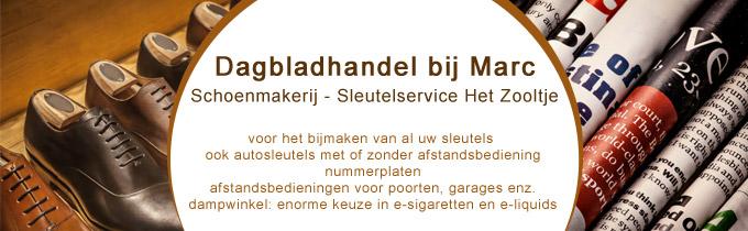 Schoenmakerij Het Zooltje / Dagbladhandel bij Marc