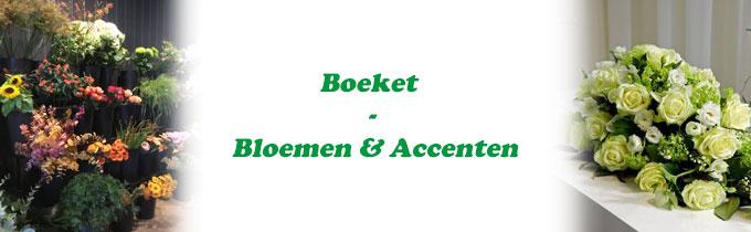 Boeket - Bloemen & Accenten