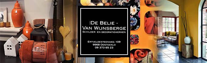 Schilder- en Decoratiewerken De Belie - Van Wynsberge Bvba