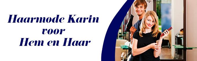Haarmode Karin voor Hem en Haar