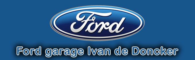 Ford garage Ivan de Doncker