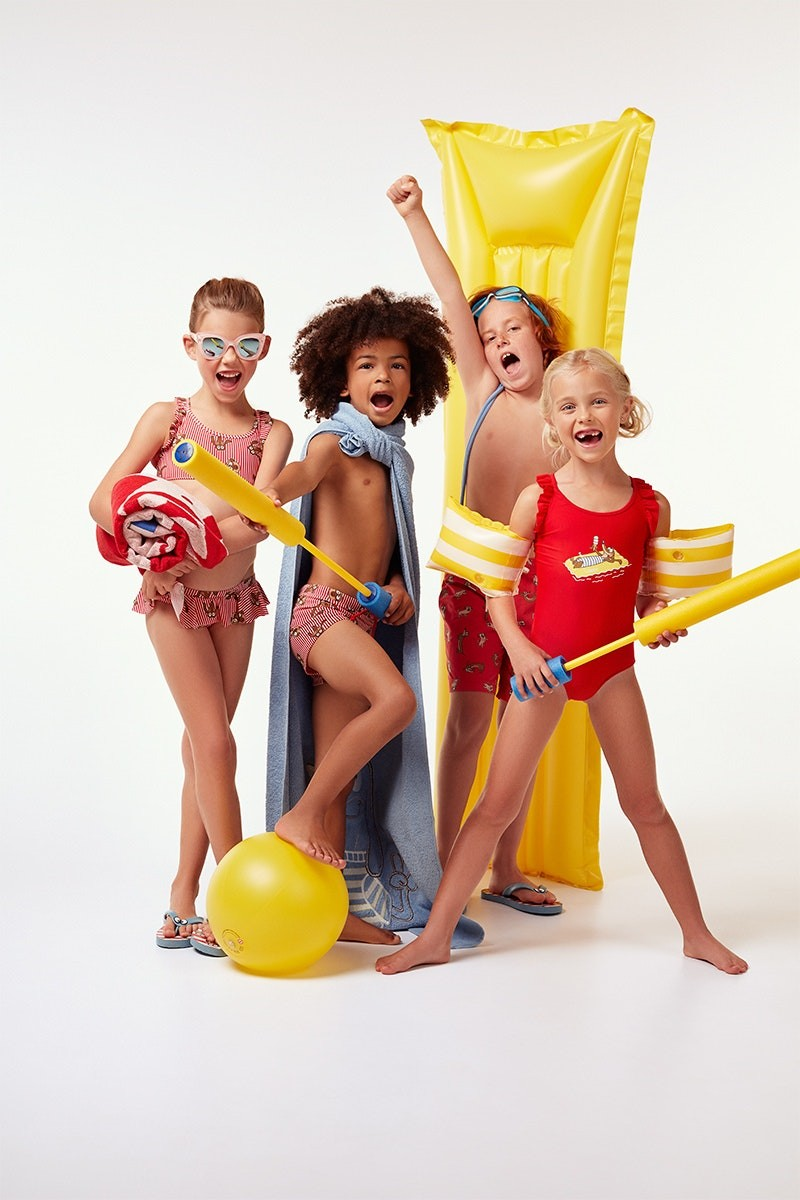 Strandkleding voor kinderen