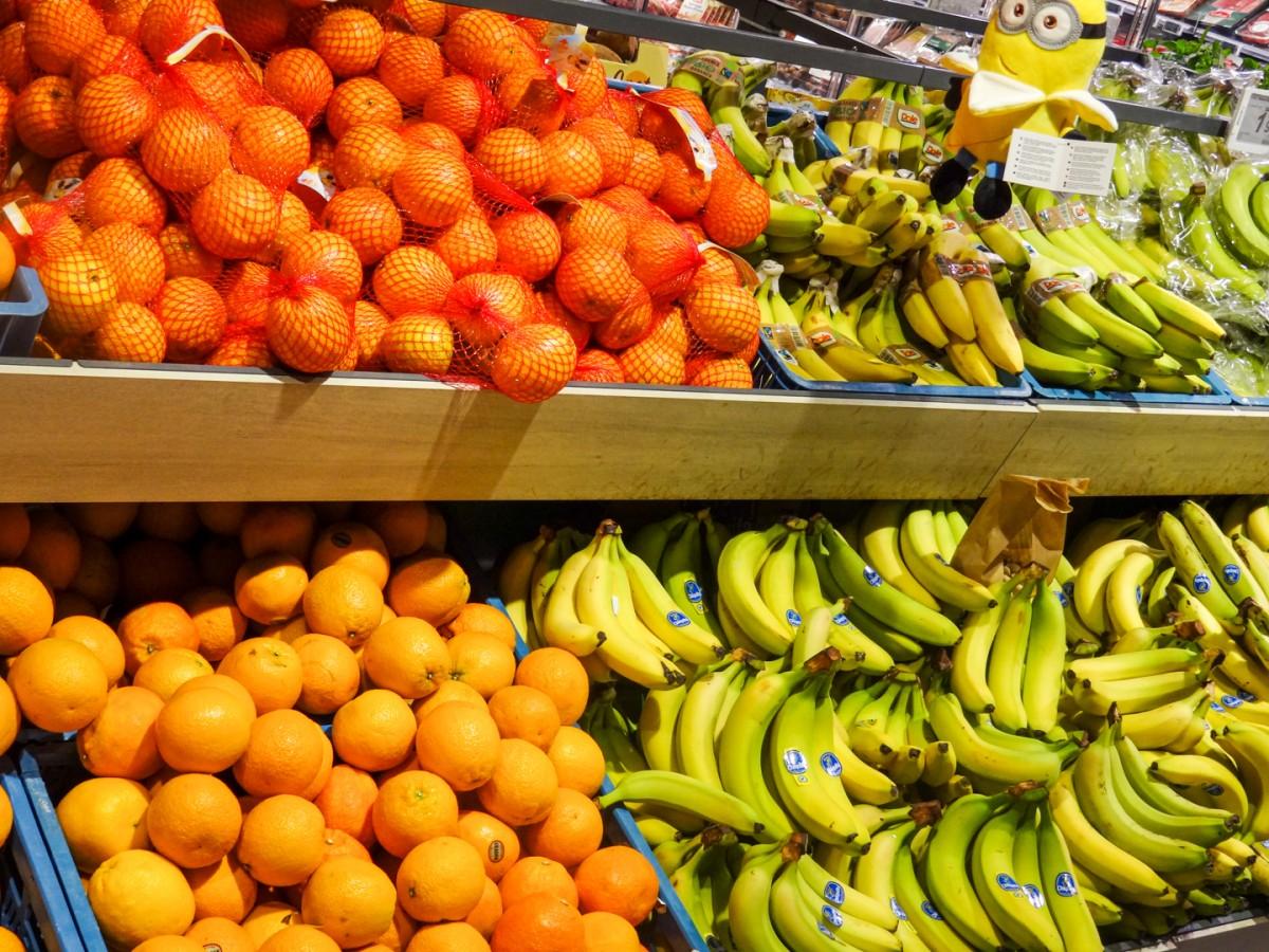 Bananen en Appelsienen
