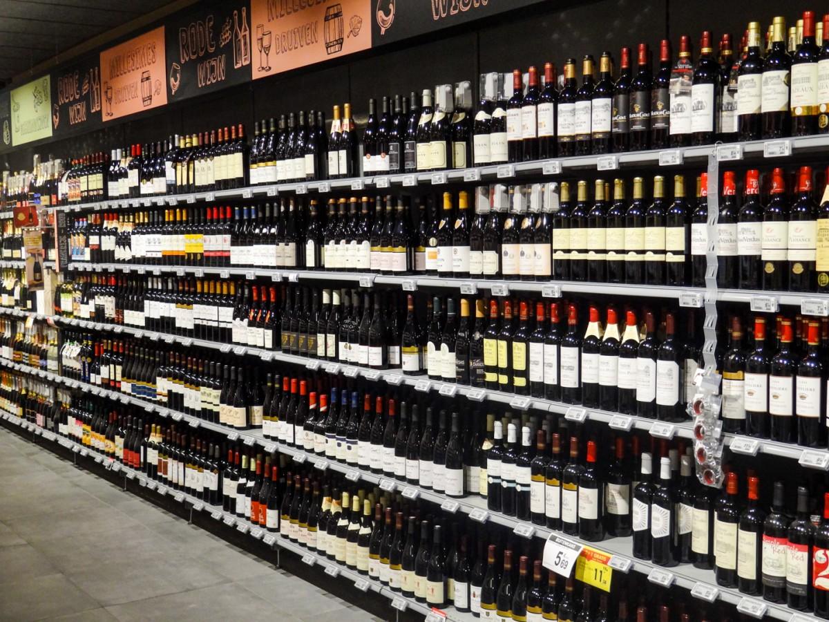 Wijnen, likeuren en aperitieven