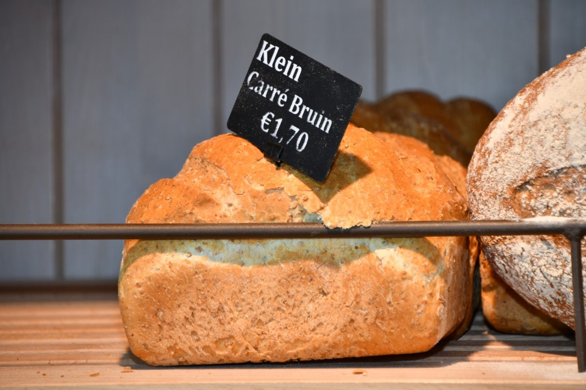Klein Carré bruin brood
