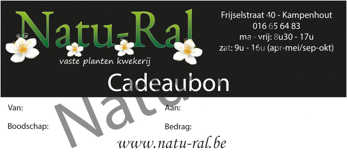 Natu-Ral - Cadeaubon