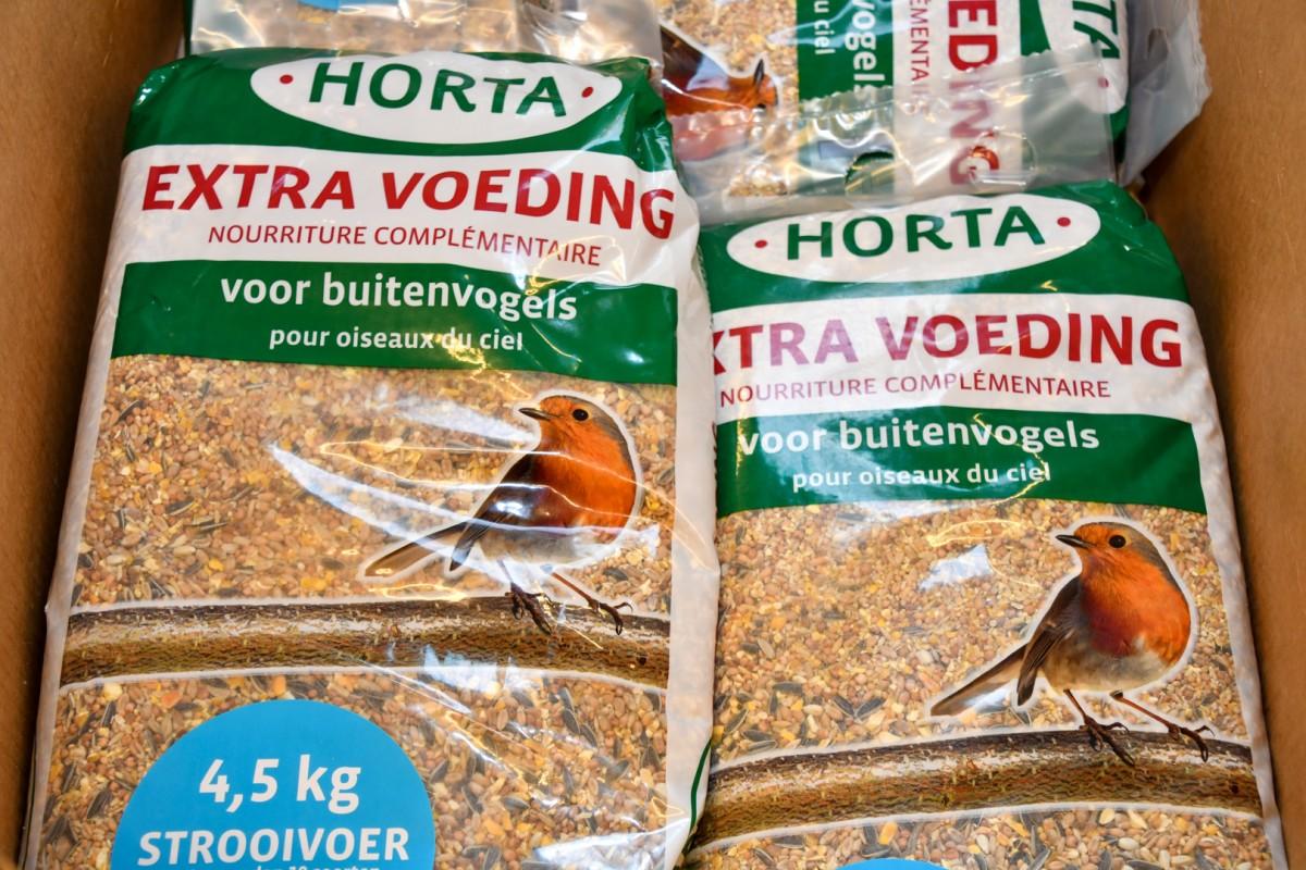 4,5 kg Strooivoer voor buitenvogels