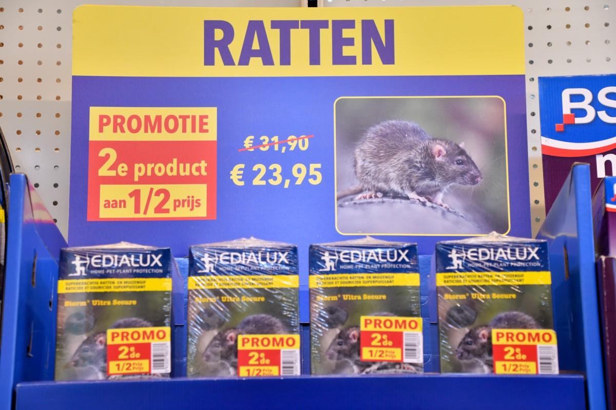 Product tegen ratten