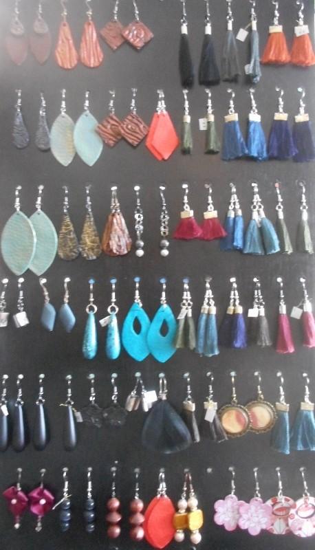handgemaakte oorbellen